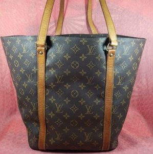 Authentic Louis Vuitton Monogram Sac Shopping Tote